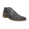 Pánská kožená kotníčková obuv bata, modrá, 826-9920 - 13