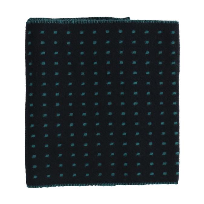 Pánská šála se vzorem bata, modrá, 909-9621 - 26