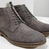 Kožená pánská kotníčková obuv bata, šedá, 823-2615 - 14