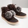 Kožená kotníčková obuv weinbrenner, hnědá, 596-4674 - 18