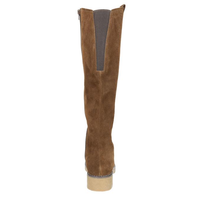 Dámské zimní kozačky bata, hnědá, 593-4606 - 16