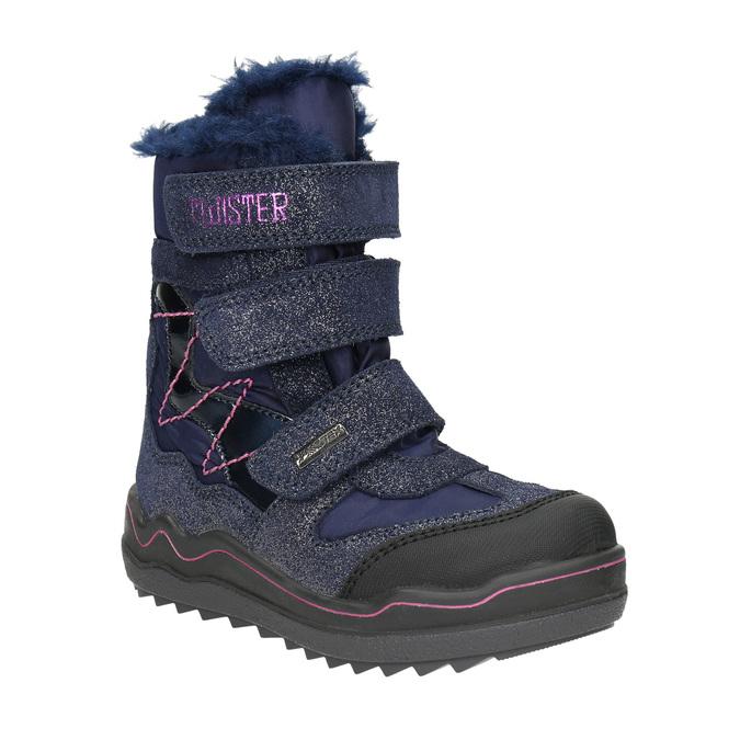 Dívčí zimní obuv na suché zipy mini-b, modrá, 299-9613 - 13
