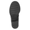Kožená šněrovací obuv nad kotníky ten-points, černá, 626-6037 - 17