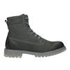 Pánská kožená obuv s výraznou podešví weinbrenner, šedá, 896-2702 - 26