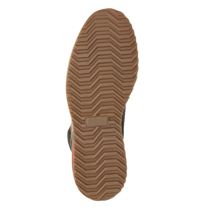 Pánská zimní kožená obuv bata, hnědá, 896-4676 - 19
