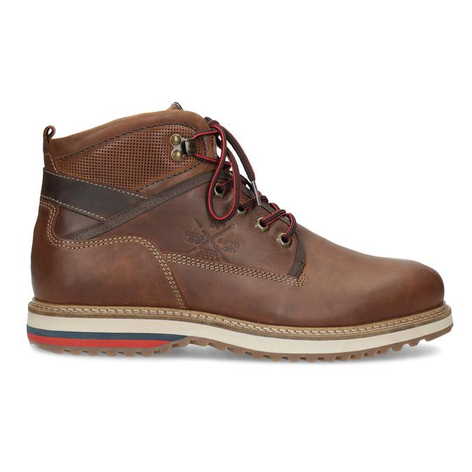 Pánská zimní kotníčková obuv bata, hnědá, 896-3677 - 19