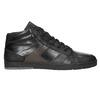 Kožené pánské kotníčkové tenisky bata, černá, 844-6644 - 26