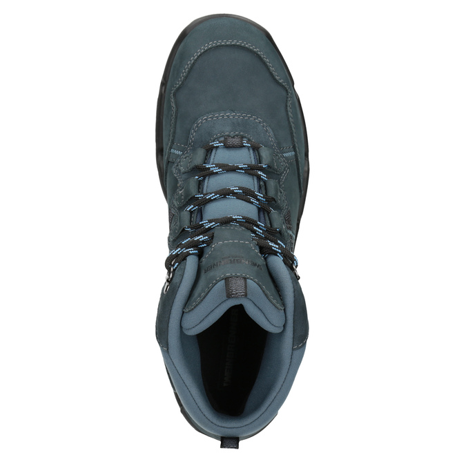 Kožená obuv v Outdoor stylu weinbrenner, modrá, 896-9671 - 15