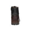 Kotníčková pánská obuv bata, černá, 896-6665 - 17