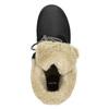 Kotníčková obuv s kožíškem bata, černá, 591-6618 - 26