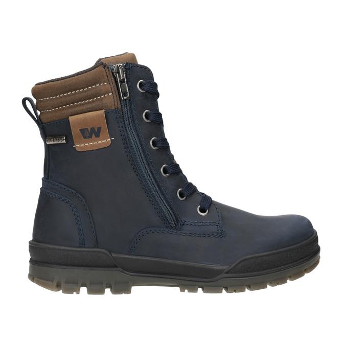 Dětská zimní obuv weinbrenner-junior, modrá, 496-9610 - 26