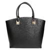 Dámská kabelka s popruhem bata, černá, 961-6821 - 17