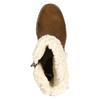 Dámská zimní obuv s přezkou bata, hnědá, 699-4637 - 26