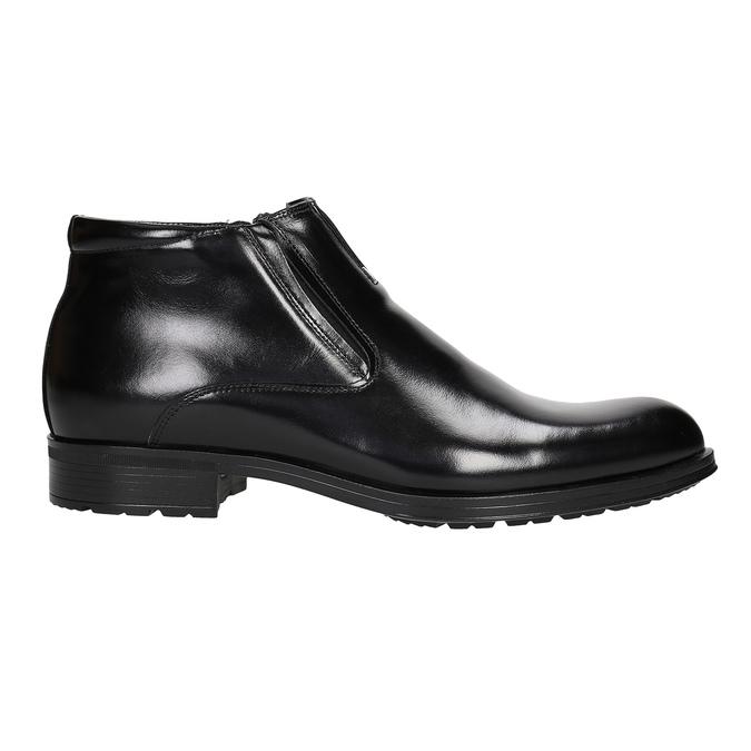 Kotníčková pánská obuv se zateplením conhpol, černá, 894-6698 - 26