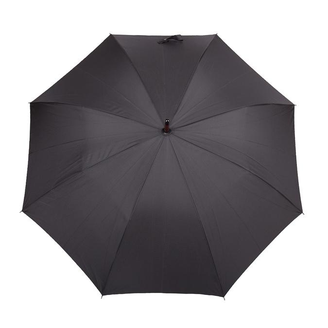 Velký černý deštník doppler, černá, 909-6661 - 26