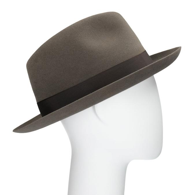 Hnědý klobouk s mašlí tonak, hnědá, 909-3648 - 13