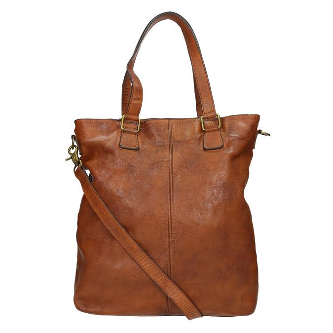 Kožená dámská kabelka bata, hnědá, 964-3245 - 16