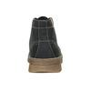 Pánská zimní kožená obuv weinbrenner, černá, 896-6107 - 16