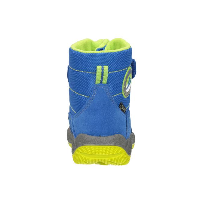 Dětská zimní obuv s výraznou podešví superfit, modrá, 293-9022 - 16