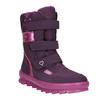Fialová dívčí zimní obuv superfit, červená, 399-5030 - 13