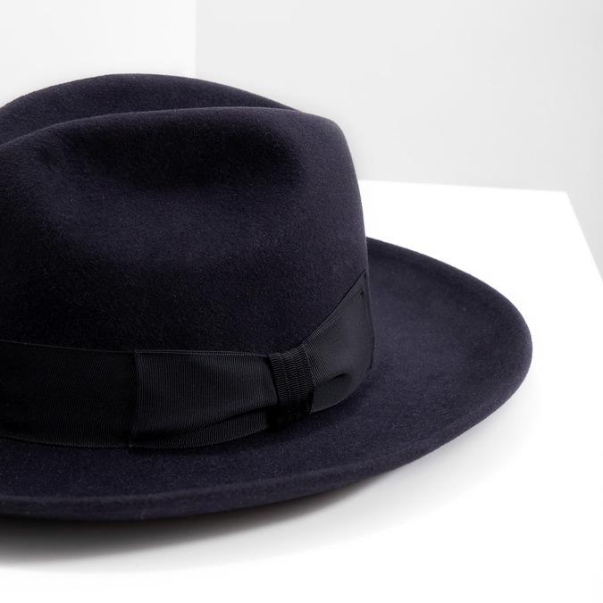 Tmavě modrý klobouk tonak, modrá, 909-9653 - 14