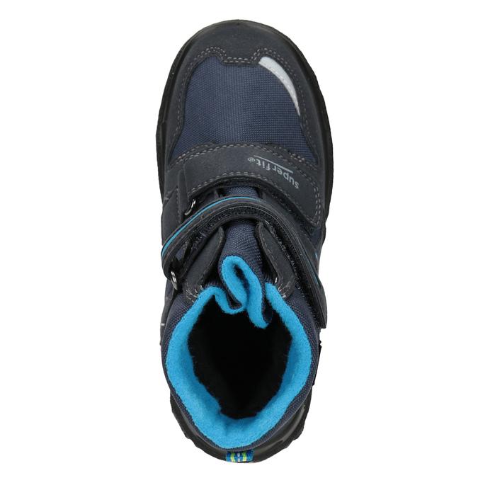 Zimní obuv na suché zipy superfit, modrá, 399-9031 - 15