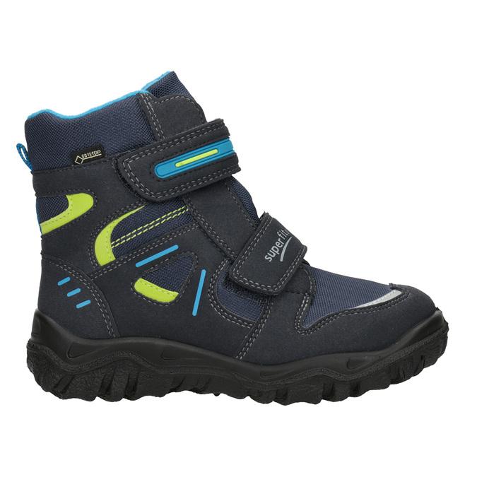 Zimní obuv na suché zipy superfit, modrá, 399-9031 - 26