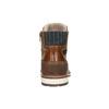 Pánská kožená obuv hnědá bata, hnědá, 896-3666 - 17