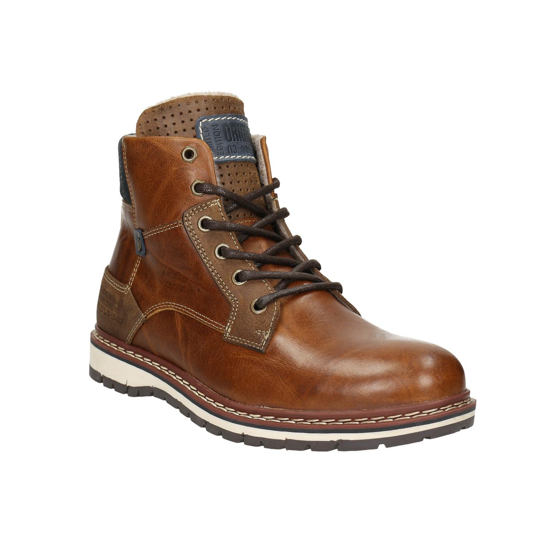 Baťa Pánská kožená zimní obuv  d1208b29a6