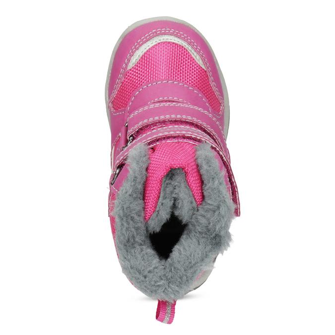 Růžové dětské sněhule bubblegummers, růžová, 199-5602 - 17