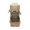 Kožená zimní obuv s kožíškem weinbrenner, hnědá, 594-2491 - 16