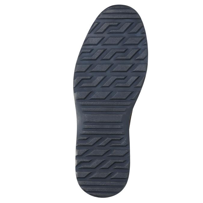 Hnědá kožená zimní obuv bata, hnědá, 896-4667 - 19