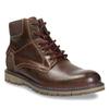 Kotníková zimní obuv pánská bata, hnědá, 896-4657 - 13