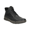 Pánská kožená zimní obuv bata, černá, 896-6672 - 13
