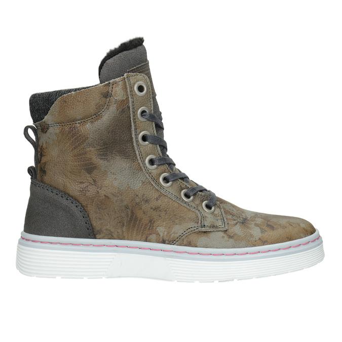 Dámská zimní obuv se zateplením bata, šedá, 596-2684 - 26