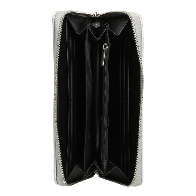 Stříbrná dámská peněženka bata, stříbrná, 941-2155 - 15