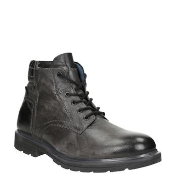Kožená pánská zimní obuv bata, šedá, 896-2682 - 13