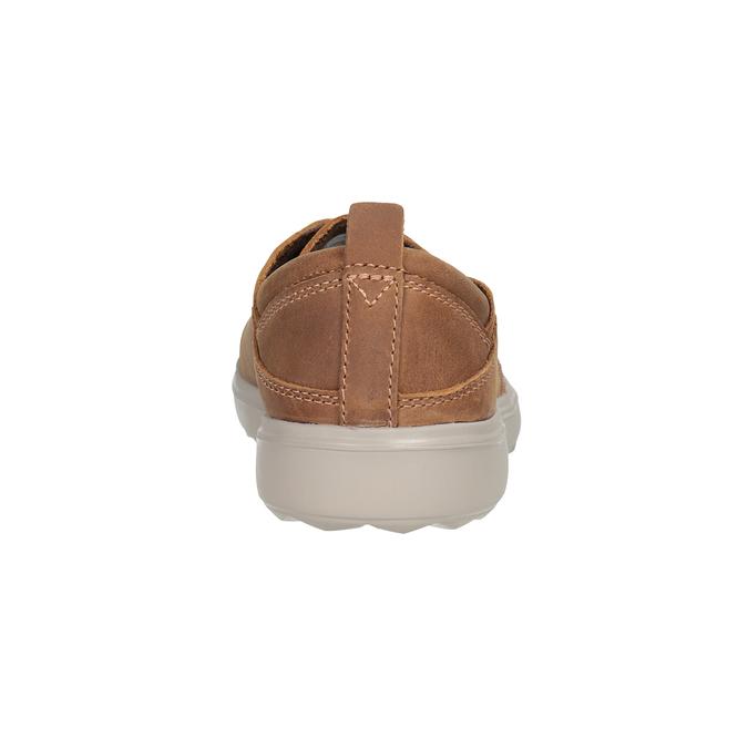 Kožené dámské tenisky merrell, hnědá, 506-4702 - 16