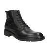 Pánská kožená obuv bata, černá, 894-6695 - 13