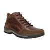 Kožená kotníčková obuv pánská bata, hnědá, 896-3705 - 13