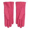 Růžové kožené rukavice junek, 924-9055 - 16