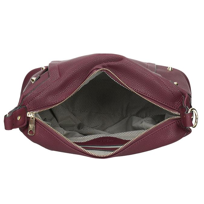 Vínová Hobo kabelka pepe-moll, červená, 961-5069 - 15