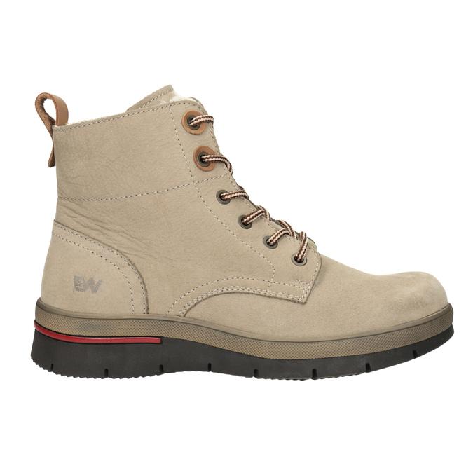 Dámská kotníčková zimní obuv weinbrenner, hnědá, 596-3666 - 26