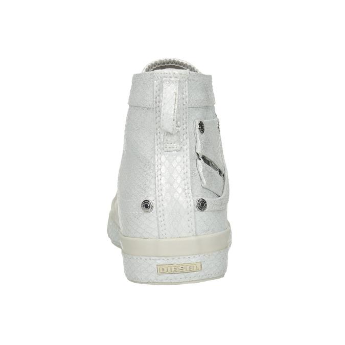 Bílé kotníčkové tenisky diesel, bílá, 501-6743 - 15