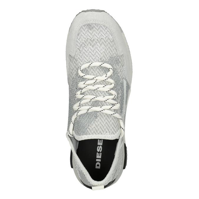 Sportovní dámské tenisky diesel, šedá, 509-1760 - 17