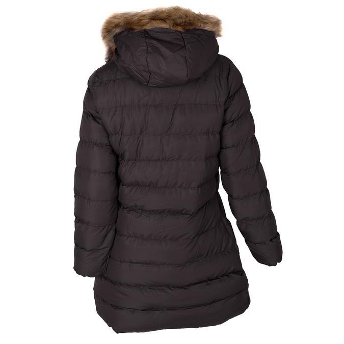 Dásmká zimní bunda s kožíškem bata, hnědá, 979-4134 - 26