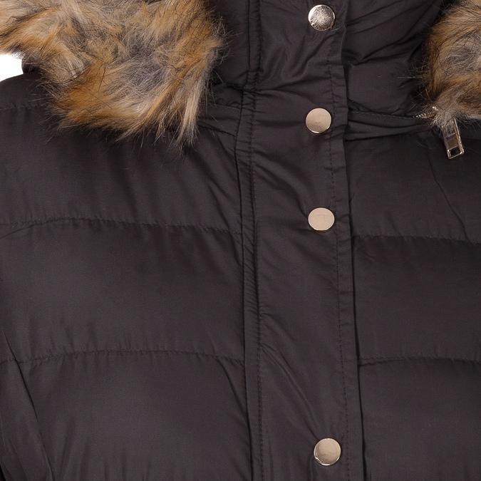 Dásmká zimní bunda s kožíškem bata, hnědá, 979-4134 - 16