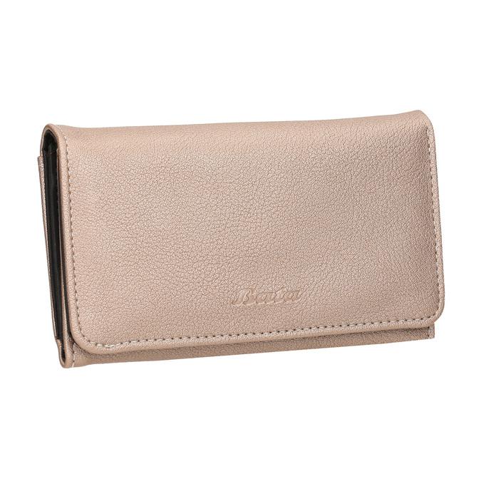 Dámská peněženka s prošitím bata, červená, 941-5156 - 13
