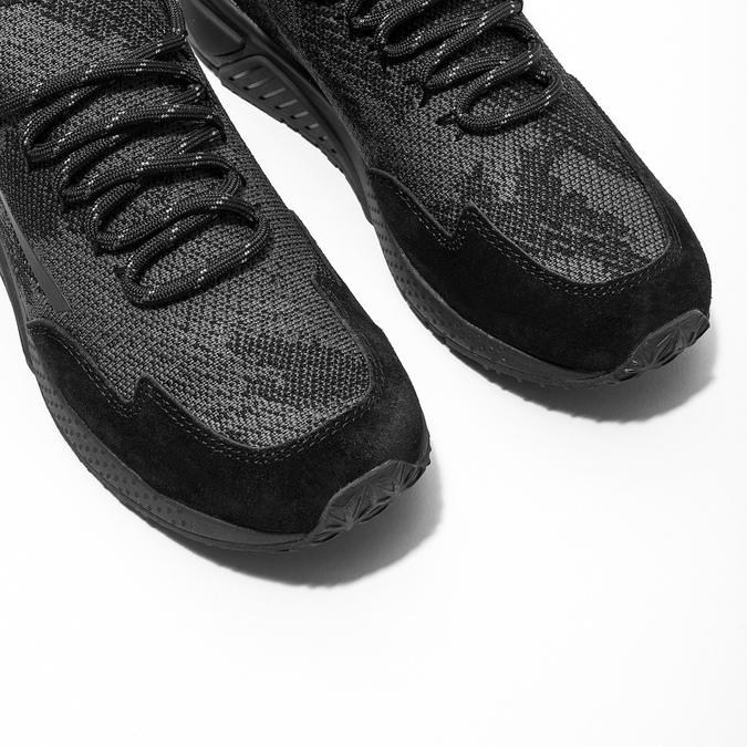 Dámské sportovní tenisky diesel, černá, 509-6760 - 14