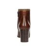 Kožené kotníčkové kozačky rockport, hnědá, 716-3054 - 17